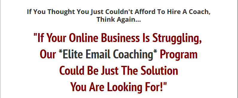 Elite Email Coaching